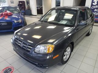Used 2006 Hyundai Accent GL / AUTOMATIQUE / AIR CLIMATISÉ / VITRE for sale in Sherbrooke, QC