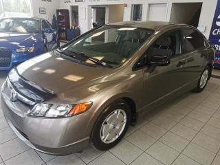 Used 2008 Honda Civic DX-G / MANUELLE / AIR CLIMATISÉ / VITRE for sale in Sherbrooke, QC
