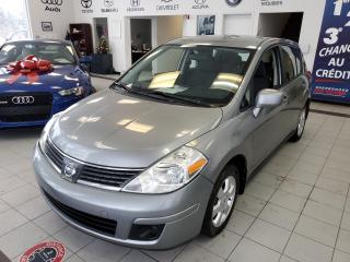 Used 2009 Nissan Versa SL / AUTOMATIQUE / 5 PORTES / AIR CLIAMA for sale in Sherbrooke, QC