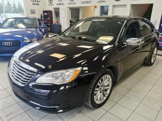 Used 2012 Chrysler 200 LIMITED / TOIT OUVRANT / CUIR / SIEGE CH for sale in Sherbrooke, QC