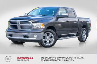 Used 2017 RAM 1500 Big Horn V6 ECO DIESEL / CAMERA DE RECUL / TONNEAU COVER / MARCHE-PIED / ATTACHE REMORQUE for sale in Montréal, QC