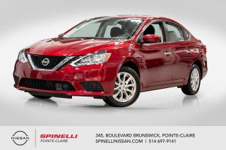 Used 2019 Nissan Sentra SV TOIT OUVRANT / TRÈS BAS KM  / CAMERA DE RECUL / BLUETOOTH for sale in Montréal, QC