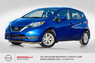 Used 2017 Nissan Versa Note SV BAS KM / CAMÉRA DE RECUL / BLUETOOTH / MIRROIRS CHAUFFANTS / SIEGES CHAUFFANTS for sale in Montréal, QC