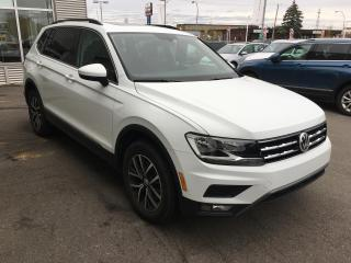 Used 2019 Volkswagen Tiguan Comfortline 2.0T 8sp at w/Tip 4M for sale in Gatineau, QC
