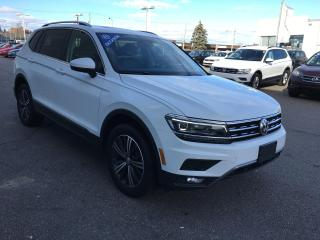 Used 2019 Volkswagen Tiguan Highline for sale in Gatineau, QC