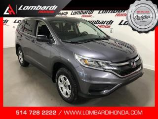 Used 2016 Honda CR-V LX|AWD|CAM| for sale in Montréal, QC
