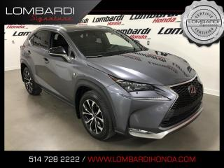 Used 2016 Lexus NX 200t FSPORT |AWD|NAVI|CUIR|TOIT| for sale in Montréal, QC
