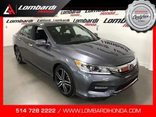 Used 2017 Honda Accord SPORT|GAR.GLOBALE 07/19/22-100K| for sale in Montréal, QC