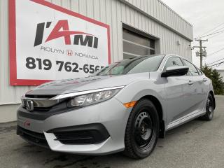 Used 2017 Honda Civic 4dr Cvt Lx for sale in Rouyn-Noranda, QC