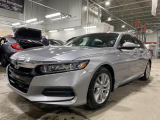 Used 2020 Honda Accord LX DÉMONSTRATEUR PNEUS D'HIVER for sale in Rouyn-Noranda, QC