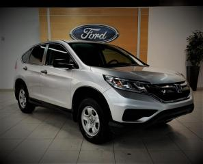 Used 2016 Honda CR-V LX/AWD - CAMERA - AIR/BLUETOOTH -BAS KM for sale in Drummondville, QC