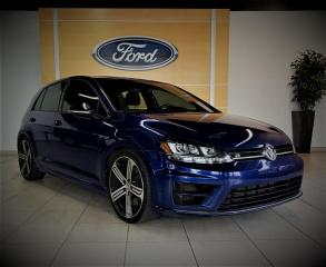 Used 2017 Volkswagen Golf R 4MOTION - CUIR/CAMERA - 19'' - BAS KM for sale in Drummondville, QC