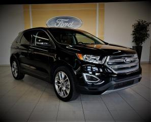 Used 2017 Ford Edge TITANIUM - BAS KM - CUIR/TOIT/GPS - 20'' for sale in Drummondville, QC