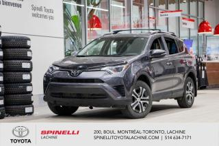 Used 2017 Toyota RAV4 LE FWD! TOYOTA CERTIFIE!! for sale in Lachine, QC