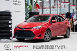 Used 2018 Toyota Corolla LE BAS MILEAGE! for sale in Lachine, QC