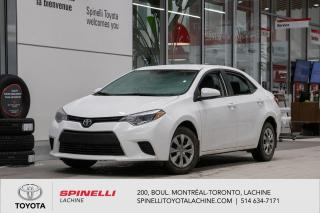 Used 2016 Toyota Corolla CE DEMARREUR INCLUS! for sale in Lachine, QC