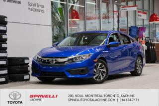 Used 2017 Honda Civic EX PNEU DHIVER INCLUS! for sale in Lachine, QC