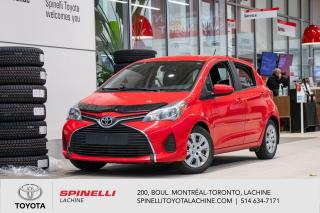 Used 2016 Toyota Yaris HATCHBACK LE for sale in Lachine, QC