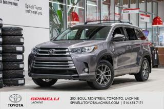 Used 2017 Toyota Highlander XLE 7 passagers! for sale in Lachine, QC