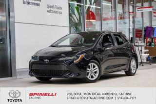 Used 2019 Toyota Corolla Hatchback SE for sale in Lachine, QC