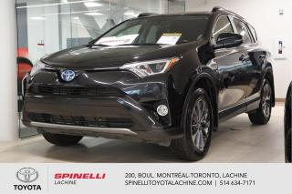 Used 2017 Toyota RAV4 Hybrid LE+ AUCUN ACCIDENT! for sale in Lachine, QC