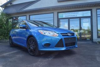 Used 2014 Ford Focus Berline SE 4 portes (Blue Candy) for sale in St-Lazare, QC