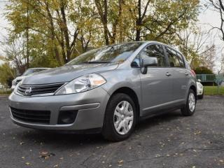 Used 2010 Nissan Versa 2010 VERSA 1.8 - AUTOMATIQUE, AIR CLIM, for sale in St-Lazare, QC