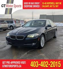 Used 2011 BMW 5 Series 535i | $0 DOWN - EVERYONE APPROVED! for sale in Calgary, AB