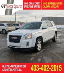 Used 2013 GMC Terrain SLE-1 | $0 DOWN - EVERYONE APPROVED! for sale in Calgary, AB