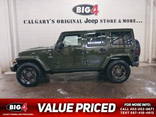Used 2016 Jeep Wrangler Unlimited Sahara 75th Anniversary for sale in Calgary, AB