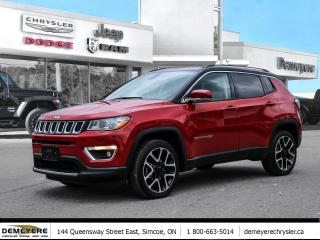 Used 2020 Jeep Compass LIMITED | LEATHER | NAVIGATION for sale in Simcoe, ON