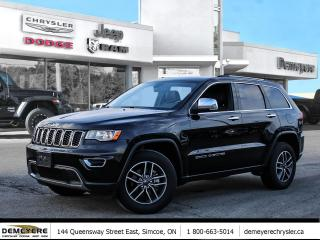 Used 2020 Jeep Grand Cherokee LIMITED | LEATHER | NAVIGATION for sale in Simcoe, ON