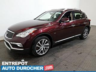Used 2017 Infiniti QX50 AWD 3.7L Toit Ouvrant - A/C - Sièges Chauffants for sale in Laval, QC