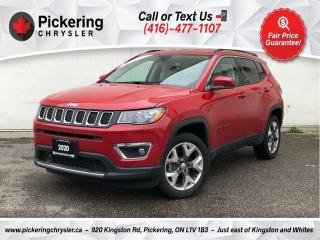 Used 2020 Jeep Compass Limited - Leather/Heated Seats/Alloys/Carplay for sale in Pickering, ON