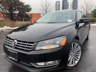 Used 2015 Volkswagen Passat SPORTLINE TDI NAVIGATION BACK UP CAM FENDER SOUND for sale in Concord, ON