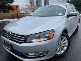 Used 2014 Volkswagen Passat HIGHLINE TDI NAVIGATION BACK UP CAM 8 TO CHOOSE ! for sale in Concord, ON