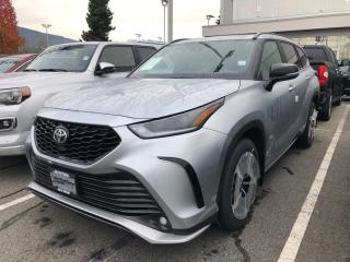 New 2021 Toyota Highlander XSE for sale in North Vancouver, BC