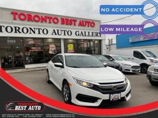 Used 2016 Honda Civic Sedan 4dr CVT LX BACKUP CAMERA APPLE CAR PLAY NO ACCIDENT for sale in Toronto, ON