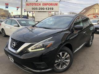 Used 2018 Nissan Murano Navigation/Camera/Alloys/Heated Seats for sale in Mississauga, ON