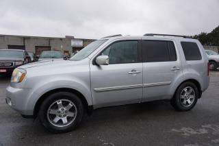 Used 2011 Honda Pilot TOURING 4WD NAVI DVD CAMERA CERTIFIED 2YR WARRANTY *1 OWNER*FREE ACCIDENT* SUNROOF HEATED LEATHER for sale in Milton, ON