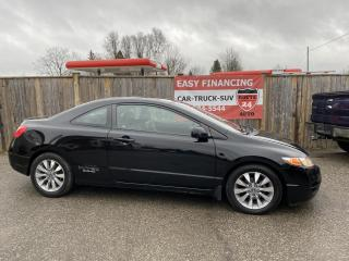 Used 2009 Honda Civic EX-L Coupe 5-Speed MT for sale in Brantford, ON