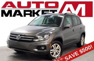 Used 2014 Volkswagen Tiguan S Certified! Heated Seats! We Approve All Credit! for sale in Guelph, ON