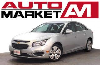 Used 2015 Chevrolet Cruze Certified! Backup Camera! We Approve All Credit! for sale in Guelph, ON