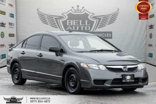 Used 2009 Honda Civic Sdn DX, CD PLAYER, A/C, CLIMATE CONTROL, AUX INPUT for sale in Toronto, ON