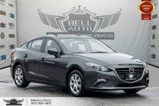 Used 2015 Mazda MAZDA3 GX, PUSH START, CRUISE CONTROL, BLUETOOTH. for sale in Toronto, ON