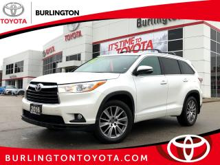 Used 2016 Toyota Highlander XLE AWD for sale in Burlington, ON