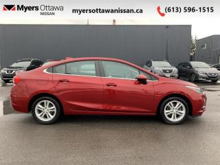 Used 2018 Chevrolet Cruze LT  - Bluetooth -  Heated Seats - $101 B/W for sale in Ottawa, ON