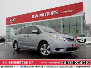 Used 2016 Toyota Sienna LE | 8 PASS| BU CAM | HTD SEATS| 90,226 KM |ALLOYS for sale in Georgetown, ON