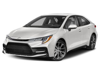 New 2020 Toyota Corolla SE CVT NIGHTSHADE EDITION for sale in Port Hawkesbury, NS