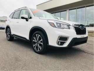 Used 2019 Subaru Forester 2.5i Limited w-EyeSight,cuir,toit,gps for sale in Lévis, QC